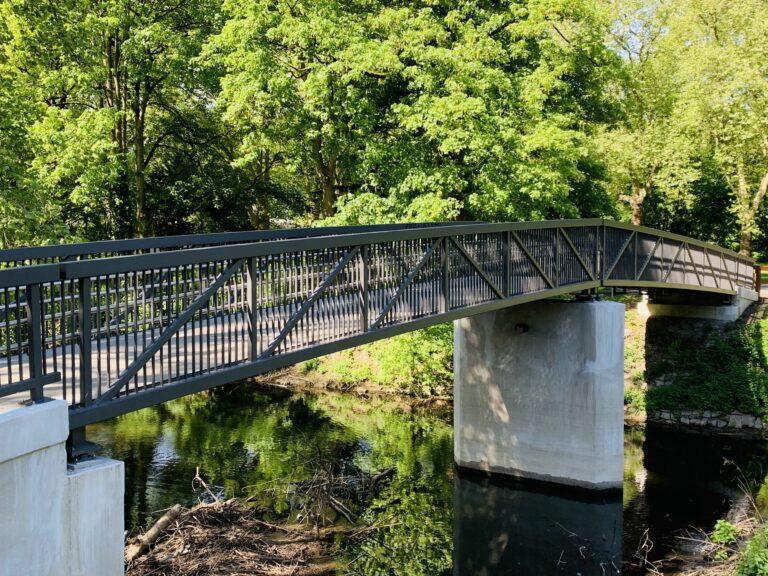Brücke Brehminsel Essen 01