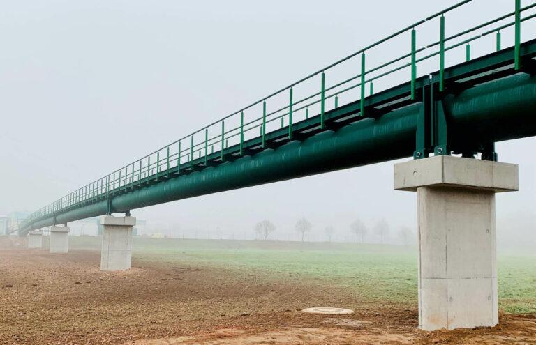 Fuß- und Radwegbrücke zur Kläranlage, Bad Kreuznach 03
