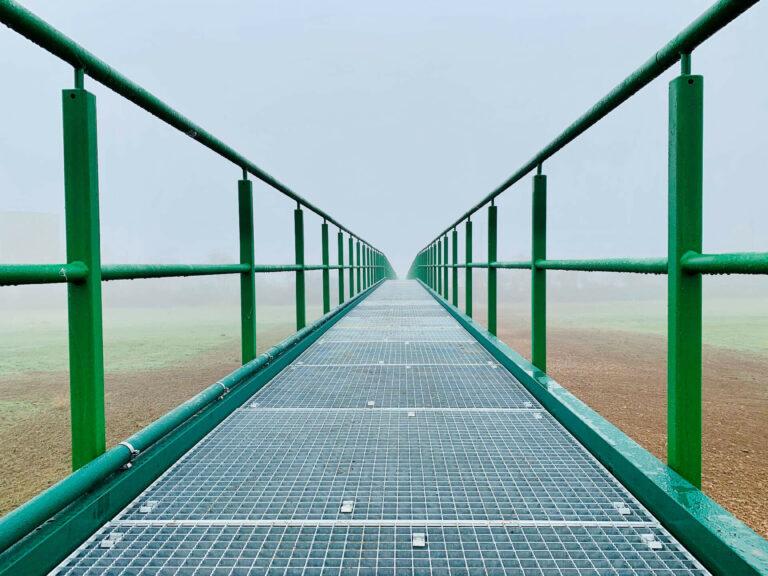 Fuß- und Radwegbrücke zur Kläranlage, Bad Kreuznach 04