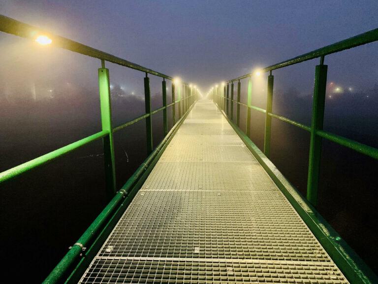 Fuß- und Radwegbrücke zur Kläranlage, Bad Kreuznach 07